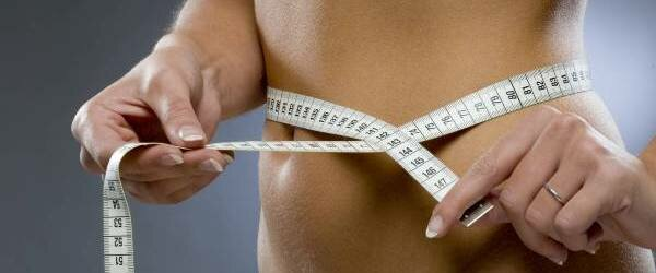 Диета 10 кг за неделю - талия, метр
