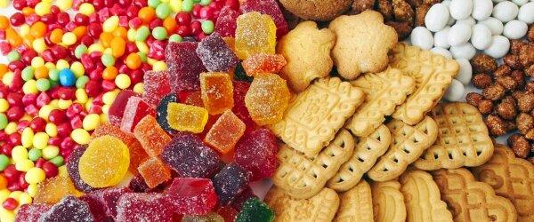 Сладкая диета - сладости, печенье, конфеты