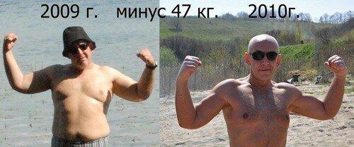 Результаты похудевших на диете 10 кг за неделю - 2