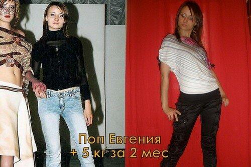 Результаты похудевших на жидкой диете - 3