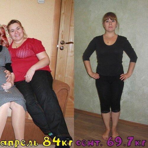 фото похудевших на правильном питании