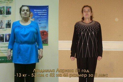 Результаты похудевших на пивной диете - 1