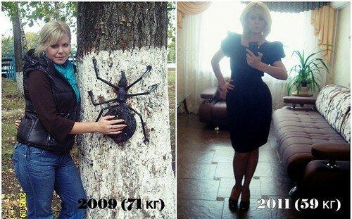 Результаты похудевших на пивной диете - 3