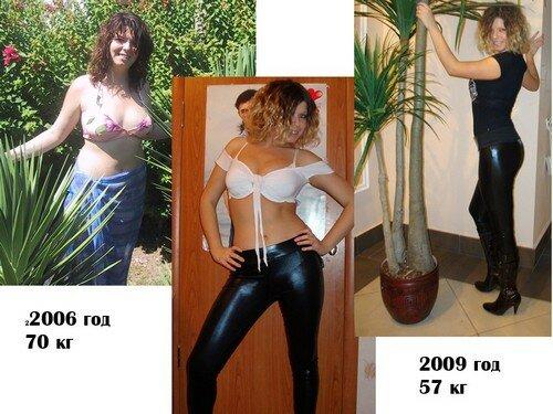 Результаты похудевших на рисовой очищающей диете - 1