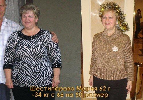 Результаты похудевших на экспресс диете - 1