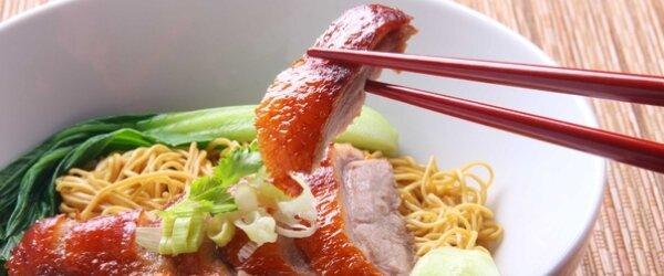 Белково-углеводная диета - мясо, макарон, китайские палочки